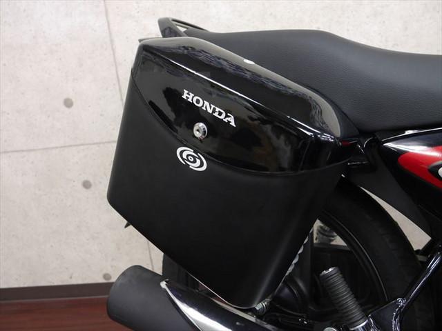 ホンダ CB125SHINE サイドボックス付き 輸入新車の画像(大阪府
