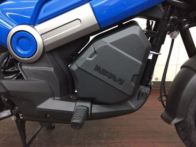 ホンダ NAVI110 輸入車 ブルー 純正ボックス装着タイプの画像(大阪府