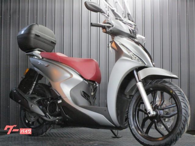 ターセリーS125 ABS 国内正規モデル スクリーン装着
