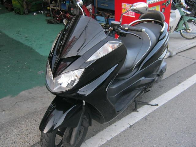 ヤマハ グランドマジェスティ250 ローダウン仕様 ローシートの画像(兵庫県