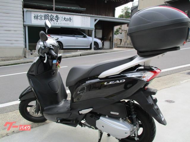 ホンダ リード125 リヤボックス付の画像(兵庫県
