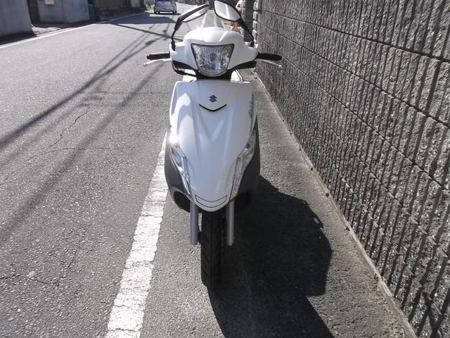 スズキ アドレス125の画像(奈良県