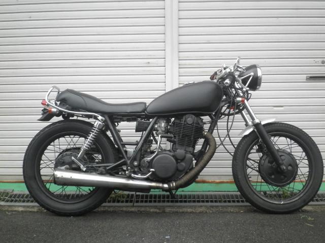 ヤマハ SR400 ブラックカスタムの画像(大阪府