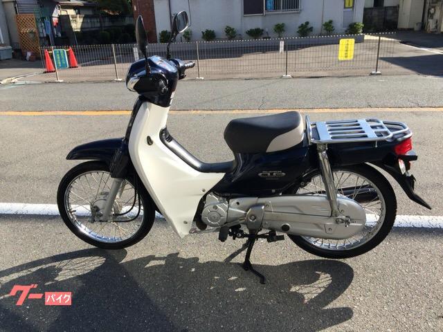 スーパーカブ50  前タイヤ バッテリー新品