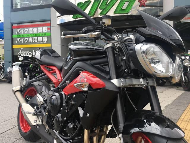 TRIUMPH ストリートトリプル Rxの画像(兵庫県