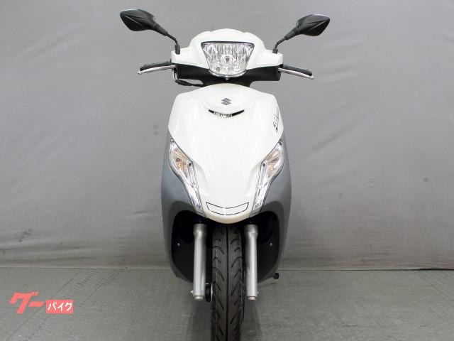 スズキ アドレス125 フラットシートモデル 最新 新車の画像(京都府