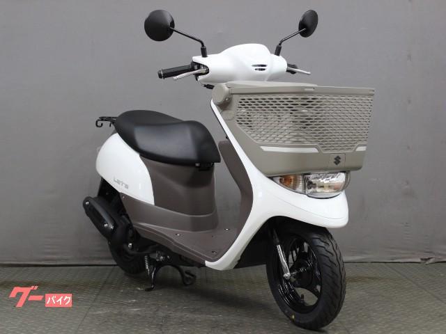 スズキ レッツバスケット 21年モデル 最新 新車の画像(京都府