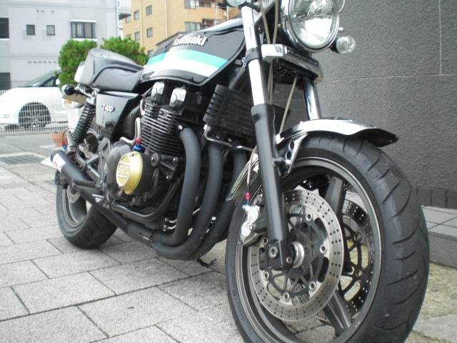 カワサキ ZEPHYRχ Z400FX仕様 Kファクショート管 2006年の画像(兵庫県