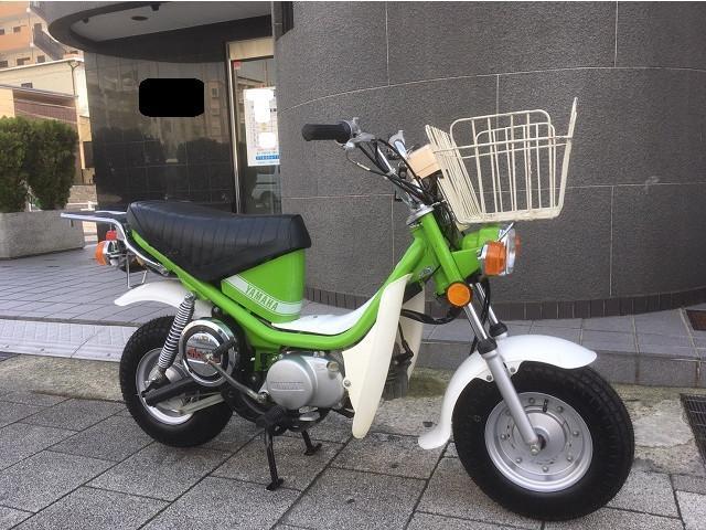 ヤマハ チャッピー50 3段変速モデル オリジナル 1980年の画像(兵庫県