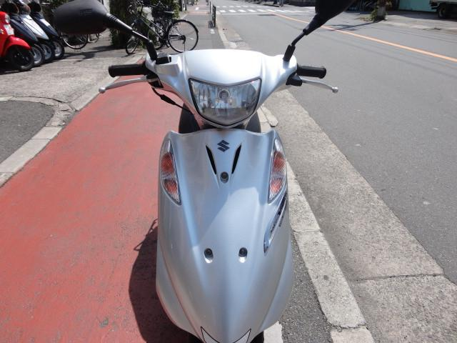 スズキ アドレスV125Gタイヤ前後新品の画像(大阪府