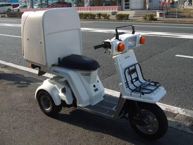 ホンダ ジャイロX 後期型 ミニカー登録の画像(大阪府