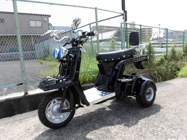 ホンダ ジャイロX 軽二輪 後期型の画像(大阪府