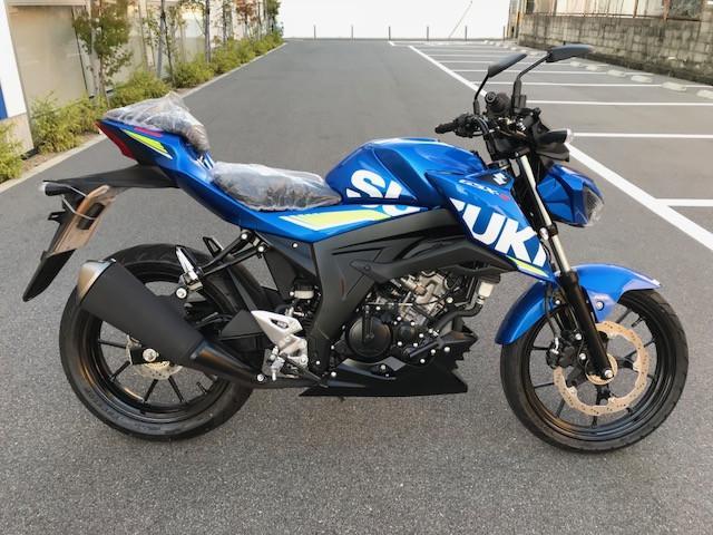 スズキ GSX-S125 ABS 新車の画像(大阪府