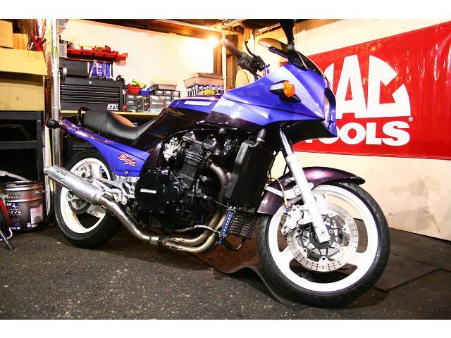 カワサキ GPZ900R 1000CCエンジン A8 リミッターカットの画像(兵庫県