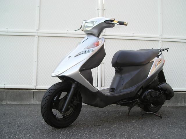 スズキ アドレスV125G 規制前モデル 前後ブレーキ新品 スペアキー付きの画像(大阪府