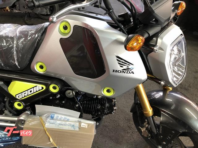 ホンダ グロム 国内新型モデル ABS 5速ミッション 標準インジケーターの画像(兵庫県