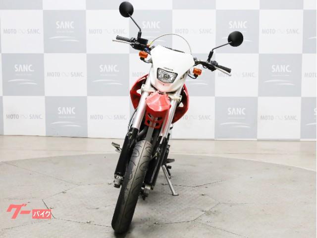 ホンダ XR400 モタード レンサルアルミハンドル Fステンメッシュホース Rキャリアの画像(兵庫県