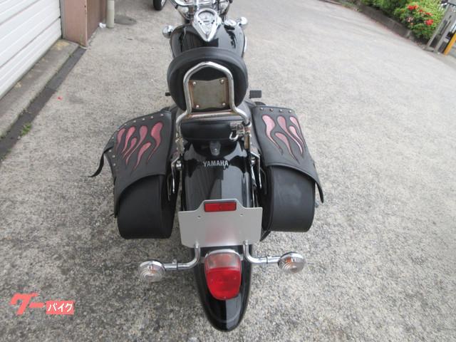 ヤマハ ドラッグスター400クラシック バックレスト マフラーの画像(兵庫県