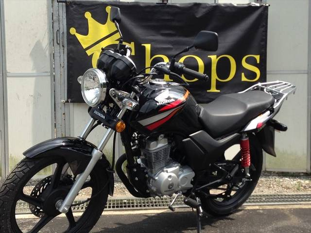 ホンダ CBF125 ブラックレーシングストライプ 新車の画像(大阪府