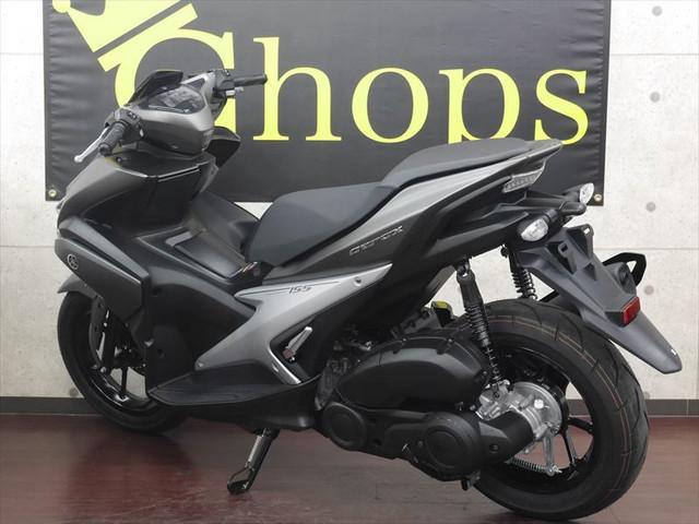 ヤマハ AEROX155 ABSバージョン スマートキー 国内未発売モデルの画像(大阪府