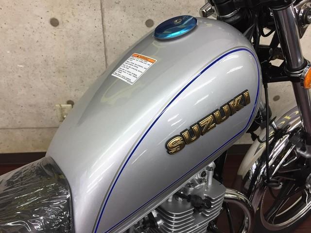 スズキ GN125H 輸入新車 シルバーの画像(大阪府