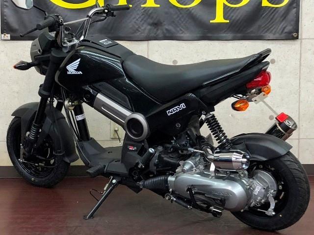 ホンダ NAVI110 Beyond10cmロンホイ ブラックカラーの画像(大阪府