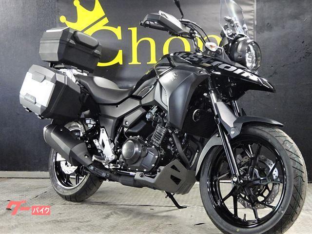 V−ストローム250 新車 ABSモデル3ラゲッジシステム付き