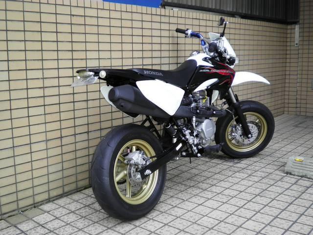 ホンダ XR100 モタード カスタマイズ仕様の画像(京都府