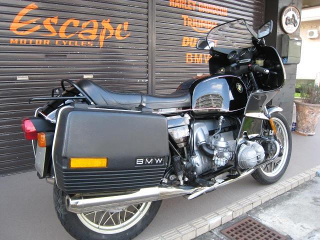 BMW R100RS オーリンズ KEIHANマフラーの画像(兵庫県