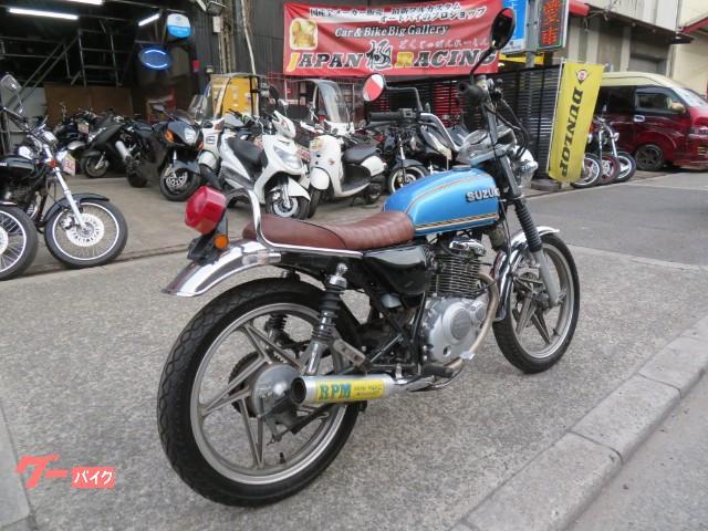スズキ EN125 GS仕様 RPM管 アップハン シートカスタムの画像(大阪府