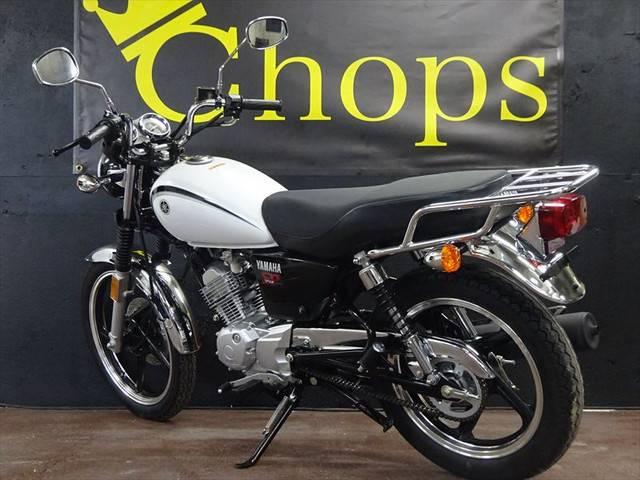 ヤマハ YB125SP ホワイト SRクラシックスタイル ホワイトの画像(兵庫県