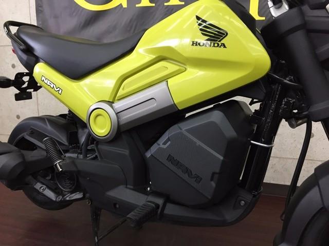 ホンダ NAVI110 純正オプションボックス搭載スタイルの画像(兵庫県