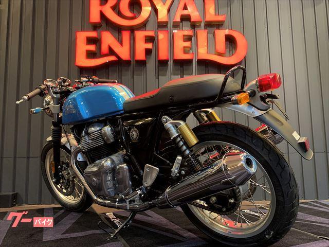 ROYAL ENFIELD コンチネンタルGT650 スタンダード 正規取扱新車 ベンチュラブルーの画像(兵庫県