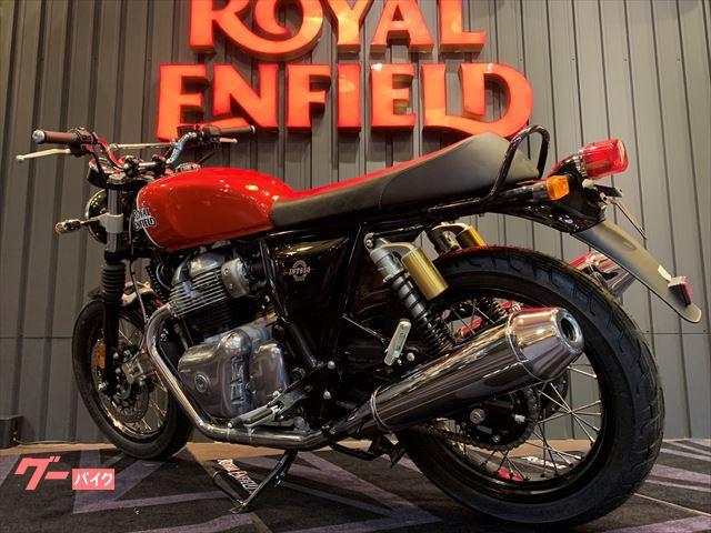 ROYAL ENFIELD INT650 カスタム 正規取扱新車 ラヴィシングレッドの画像(兵庫県
