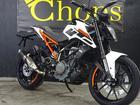 KTM 250デューク 最新モデル インポート ホワイトオレンジフレームの画像(兵庫県