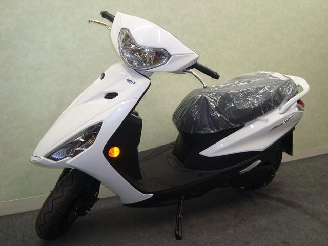 ヤマハ AXIS Z 最新国内モデル ブル-コアエンジンの画像(兵庫県