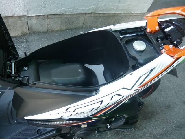 ヤマハ ルビアスGTX125 水冷4ストFiエンジン搭載モデルの画像(大阪府