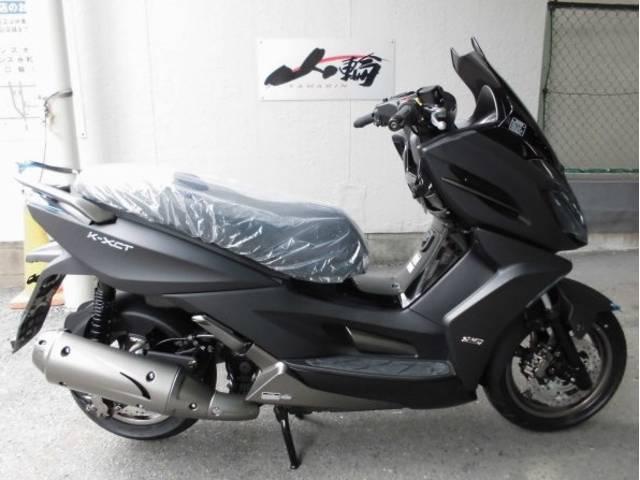 KYMCO K-XCT125 盗難抑止アラーム作動灯装備型 日本正規モデルの画像(大阪府