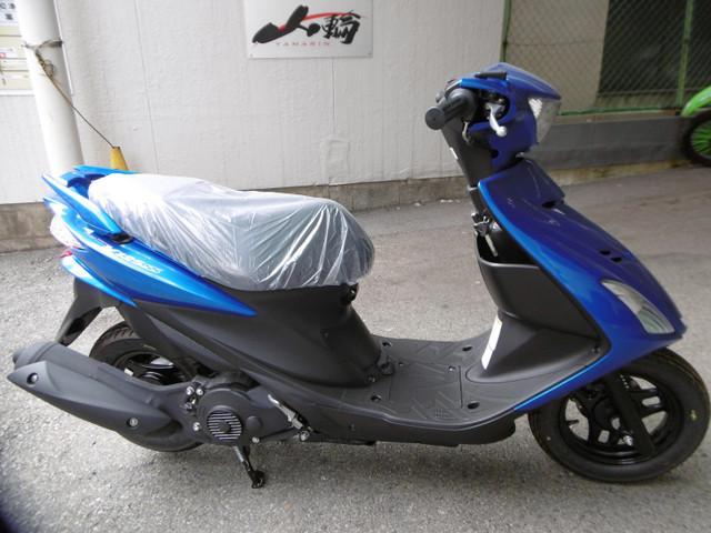 スズキ アドレスV125SS 盗難抑止アラーム装備最新現行モデルの画像(大阪府