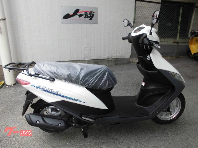 スズキ アドレス125 最新現行モデルの画像(大阪府