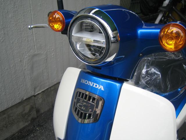ホンダ スーパーカブ110 LEDヘッドライト型 最新現行年式型モデル 新車の画像(大阪府