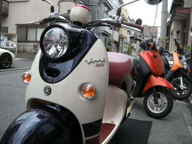 ヤマハ ビーノDX 2017年モデルの画像(京都府