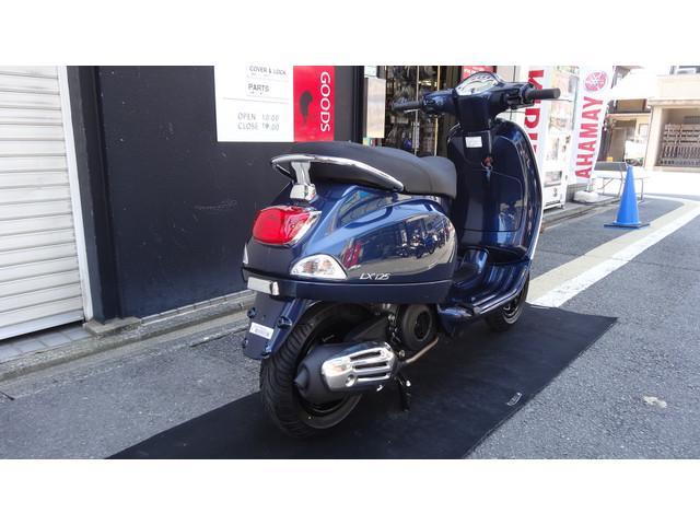VESPA LX125ie PGJ正規取扱車の画像(京都府
