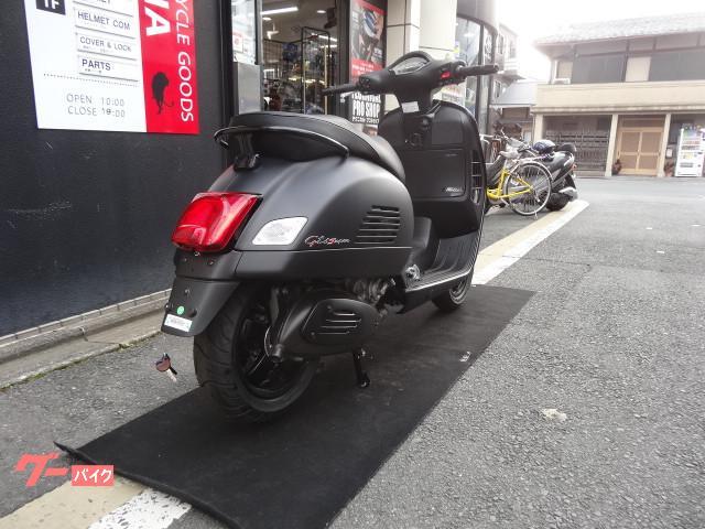 VESPA GTS300ie Super Notteの画像(京都府