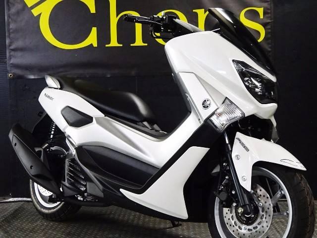 ヤマハ NMAX ホワイトメタリック 新車の画像(京都府