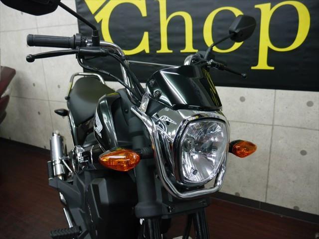 ホンダ NAVI110 オリジナルマフラー 純正カラーカスタマイズメッキキット装着タイプの画像(京都府