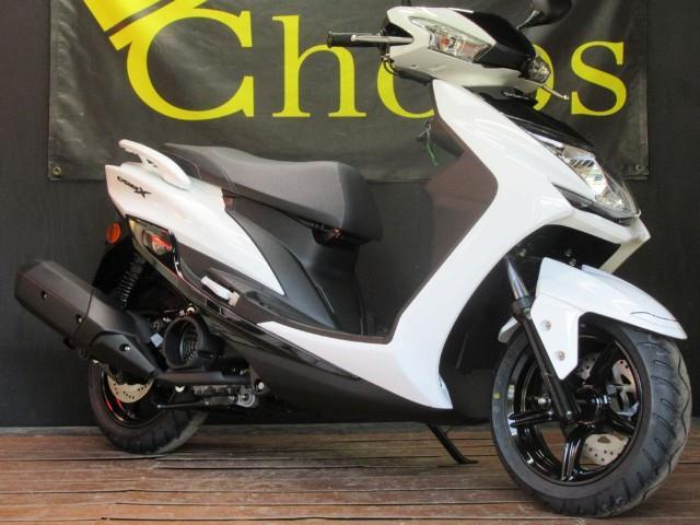 ヤマハ シグナスX SR 最新モデル ホワイトの画像(京都府