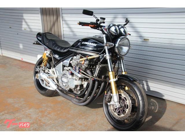 カワサキ ZEPHYR1100 カスタムブラックタイガーの画像(兵庫県