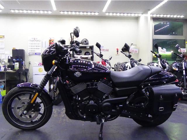 HARLEY-DAVIDSON XG750 ストリート750 サイドバッグ装着の画像(大阪府