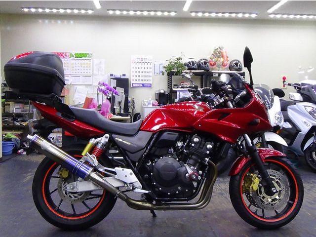 ホンダ CB400Super ボルドール VTEC Revo ワイバーンサイレンサーの画像(大阪府
